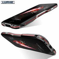 2 In 1 Dual Color Design Luxury Shockproof Aluminum Bumper Metal Frame Case For IPhone 7