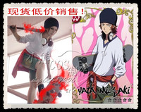 Hot Selling Animation K Cartoon Cosplay Costume Yata Misaki COS Casual Clothing Suit Coat+T shirt+Short Pants+Hat