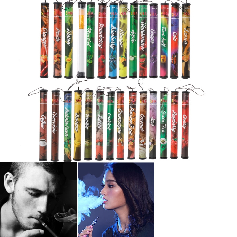 ECT Fruits Flavor 500 Puffs Disposable Vapor Hookah Shisha Stick Pen Electronic