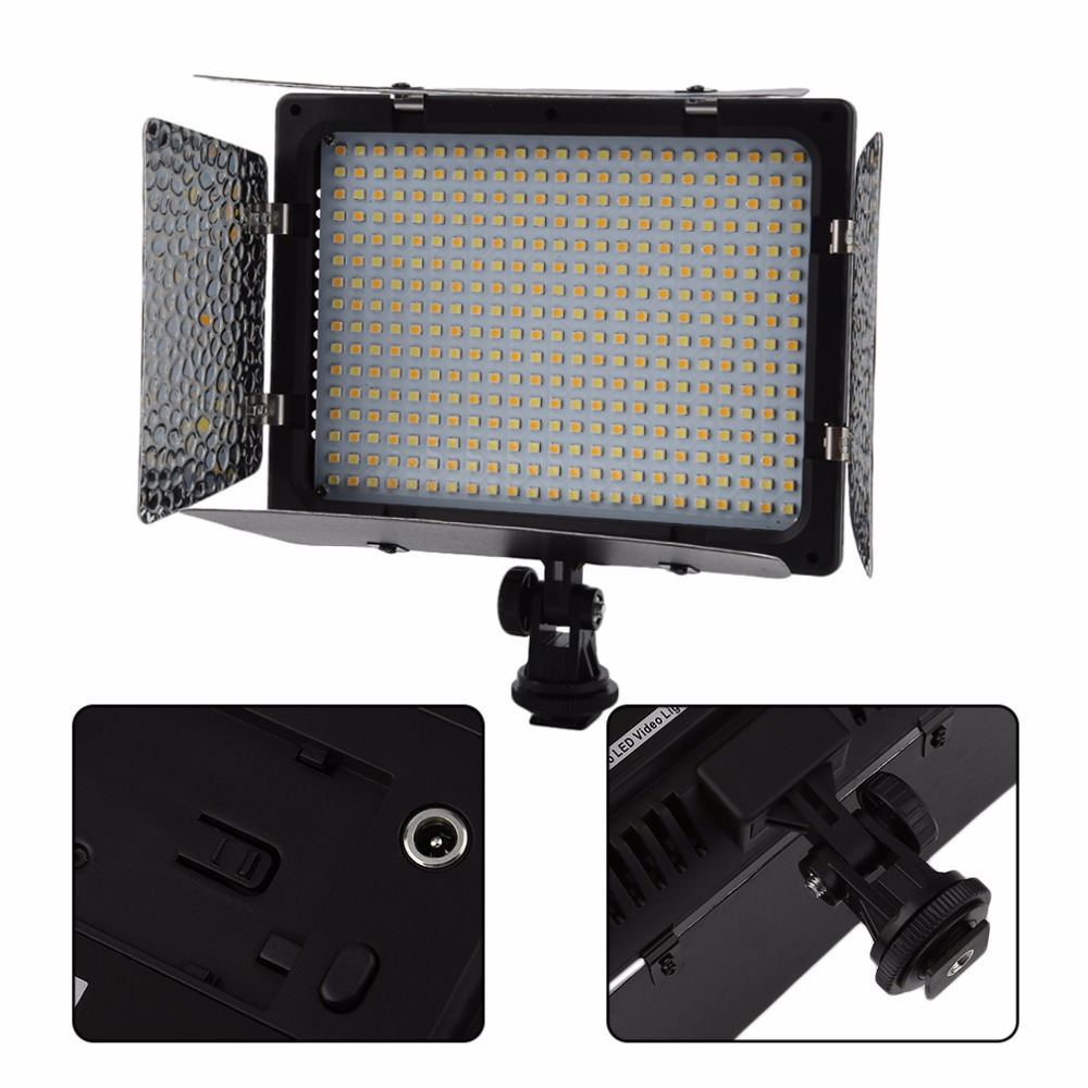 WS-368 Photographic Lamp LED Lamp Video Light Photo Lighting On Camera 23W 6300K For Sony NP-F Series Camcorder Camera стоимость