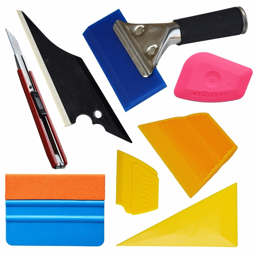 Professional Car Vinyl Wrapping Tools for Window Glass Tint Tuck Cutter UK SHIP