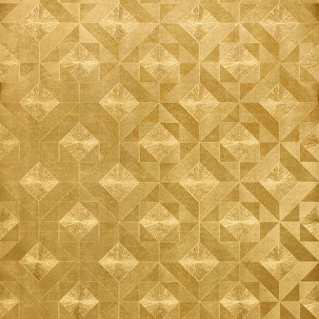 Aliexpress Com Buy Modern Luxury Gold Mosaic Wallpaper