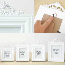 Living Room Bedroom Solid Wood DIY Family Frame Mini Pictures Wall Vintage Photo Frame Child Study