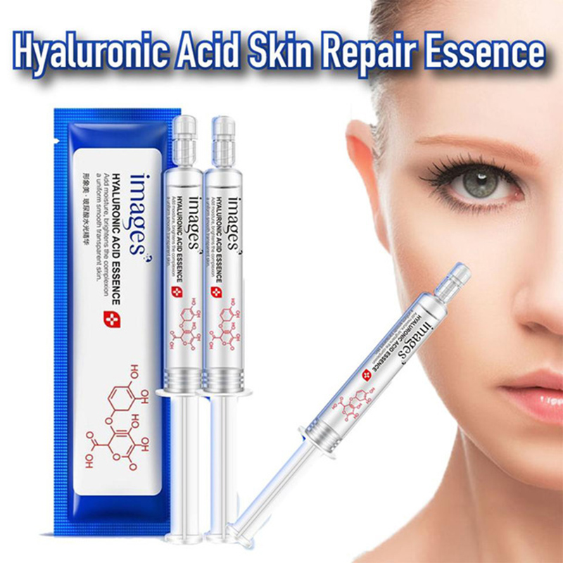 Hyaluronic Acid Skin Repair Essence Hydration Moisturizing Face Improve Skin Face Concealer 2pcs/lot Drop Shipping