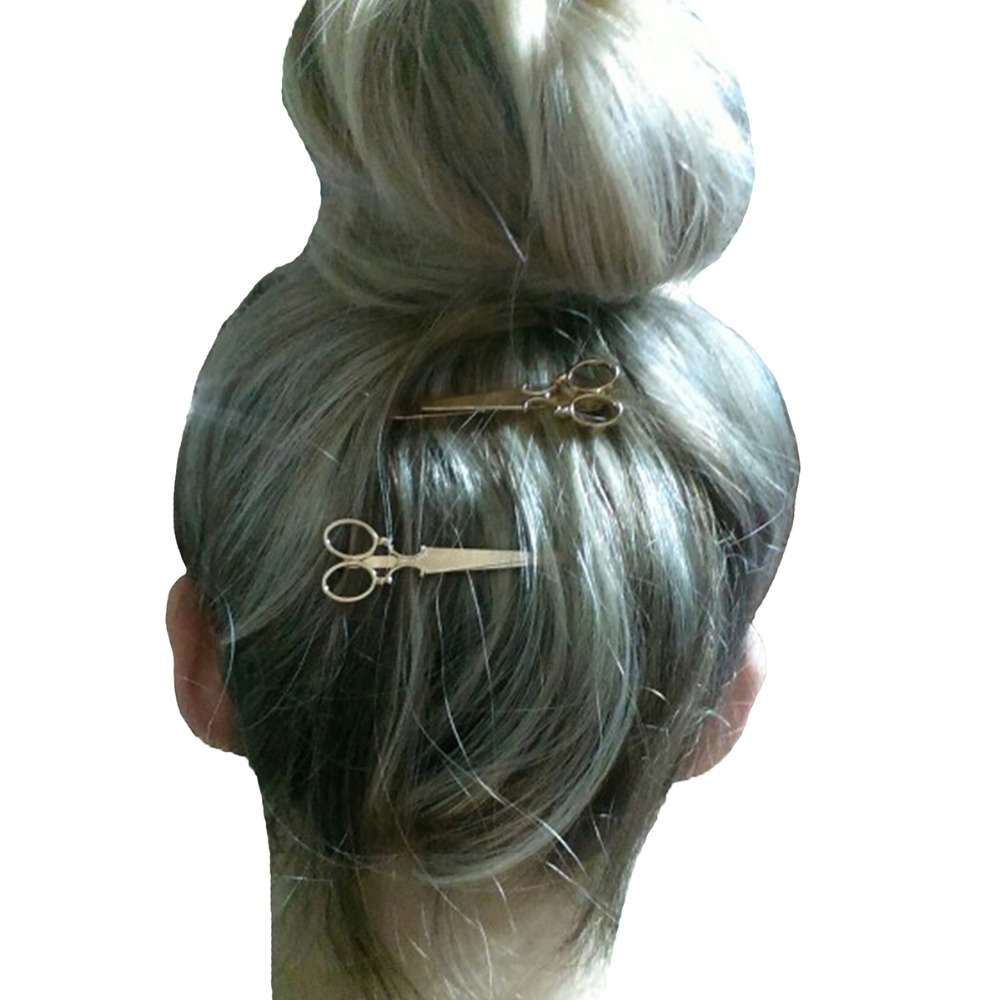 hot selling gold silver hair clip