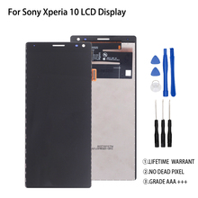 Original For Sony Xperia 10 LCD Display Touch Screen Digitizer For Sony Xperia 10 Display I3123 I3113 I4113 I4193 Screen LCD original new 5 eink for sony prs 350 lb050s01 rd02 e ink lcd screen display lb050s01 rd02 lb050s01 rd 02