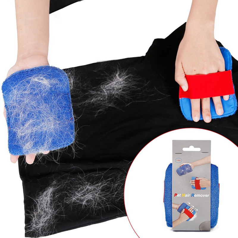 Pet Dog Cat Bath Brush Comb Rubber Glove Hair Fur Grooming Massaging Massage Mit pet shower dog brush hair removal device in Lint Rollers Brushes from Home Garden