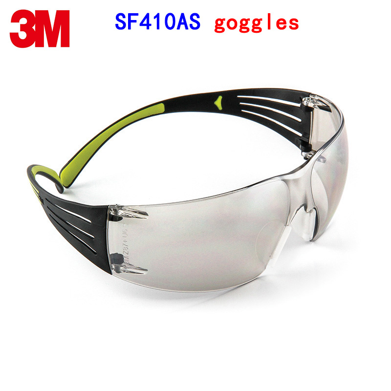 3M SF410AS goggles Genuine security 3M protective goggles Two colors streamline Anti-UV SF400 series safety glasses аккумулятор security force sf 1212