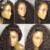 Profundamente Rizado Pelucas Superiores de Seda Pelucas Llenas Del Cordón Humano Pelucas de Pelo Para Las Mujeres negras Glueless Brasileña Virginal Del Pelo Rizado Peluca Del Frente Del Bebé pelo