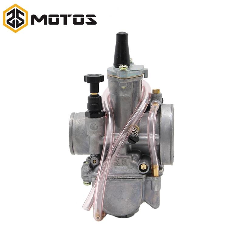 ZS MOTOS Super Performance PWK Carburateur CARB Motorfiets RACING - Motoraccessoires en onderdelen