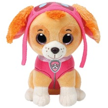 20CM Paw Patrol Dog Skye Stuffed & Plush Doll Anime Kids Toys Action Figure Model and Animals Toy gift