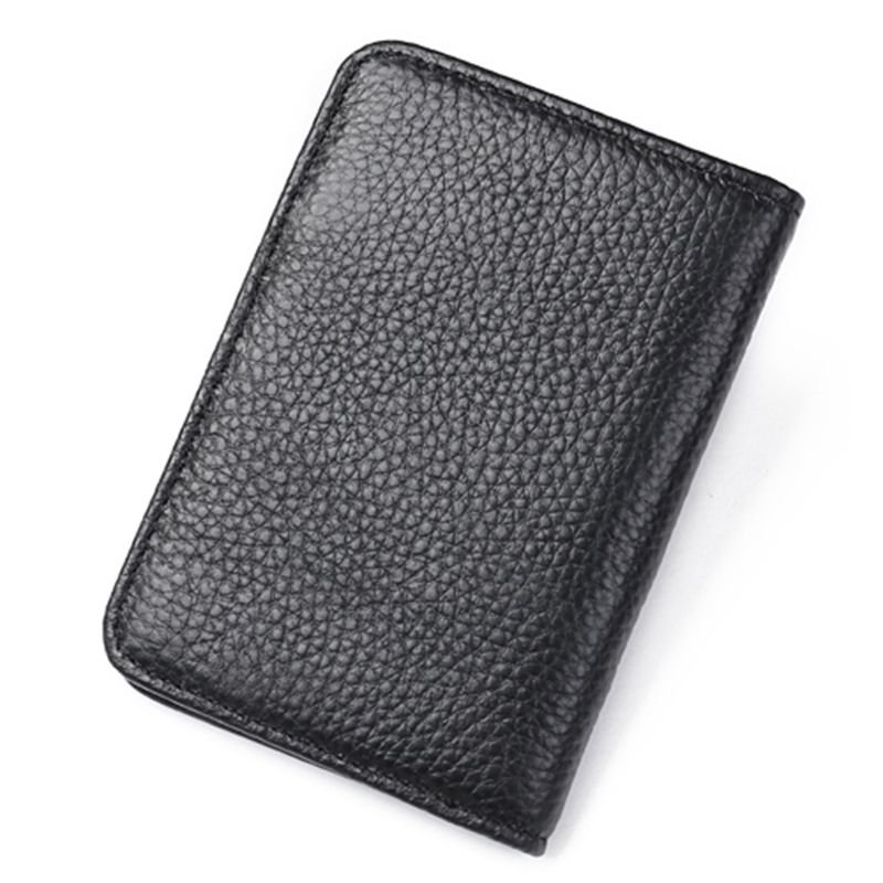 RFID Front Pocket Wallet Leather Wallet Men Business Slim Credit Card ID Holder Case hot sale 2015 harrms famous brand men s leather wallet with credit card holder in dollar price and free shipping