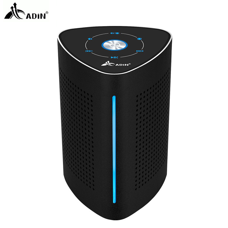 Adin Metal 36W Wireless Bluetooth NFC Speaker Resonance Stereo 3D HiFi Surround Subwoofer Touch Control With