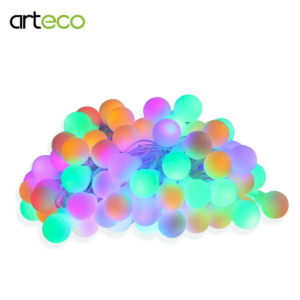 10M 100LED Ball Fairy String Light for Home Garden,Party,Wedding Holiday Christmas decor ...