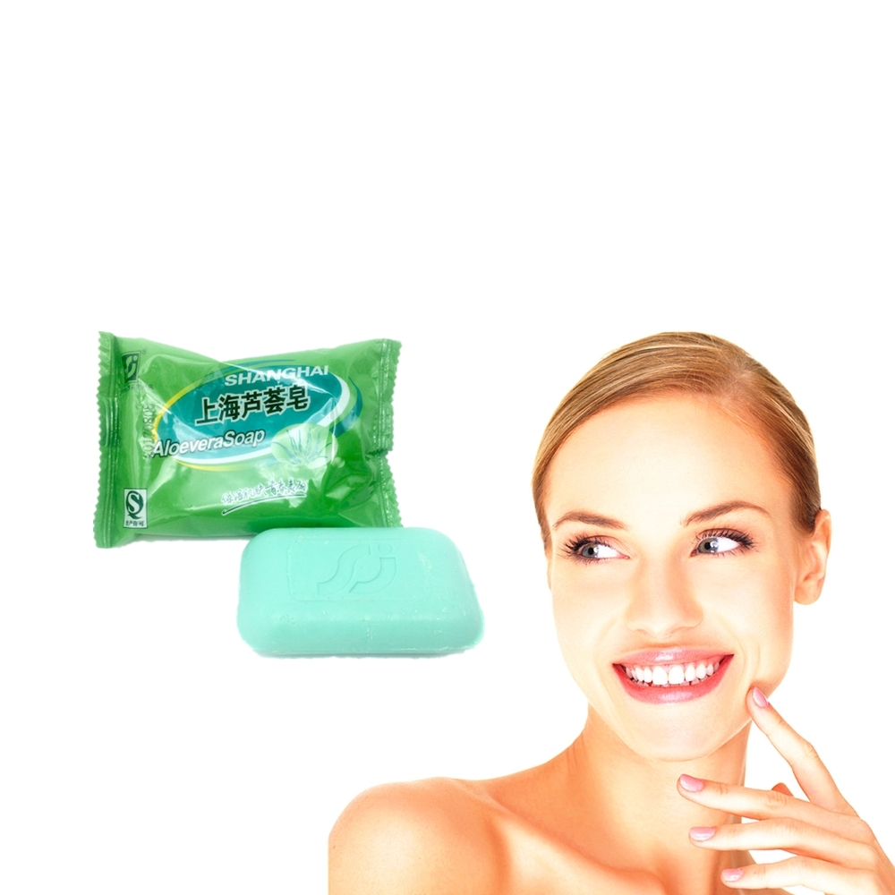 Cleansers Cheap Sale Aloevera Bacteria Removing Soap 85g Anti Bacterial Mites Acne Rosacea Oil Control Face Antibacterial Soap Cleanser