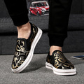Hombres Mocasines de Cuero Genuino Zapatos Casuales Marca de Lujo Mocasines Transpirables Mens Zapatos de Gran Tamaño 47 48 Hombres Zapatos Planos de Conducción 2A