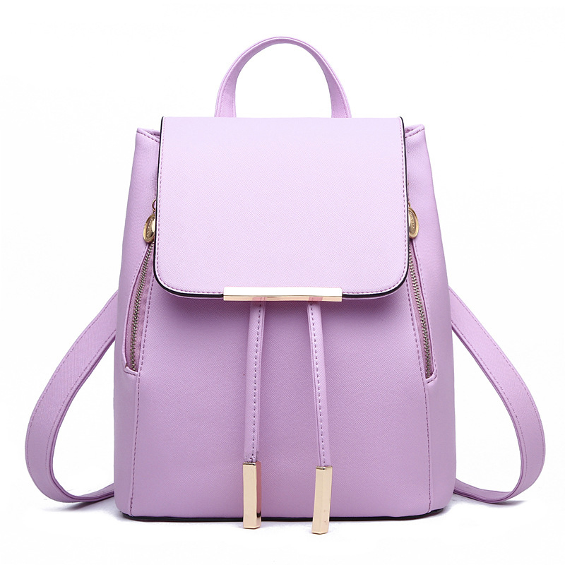 Aliexpress.com : Buy Women Leather Backpack Cute School Bags For ...