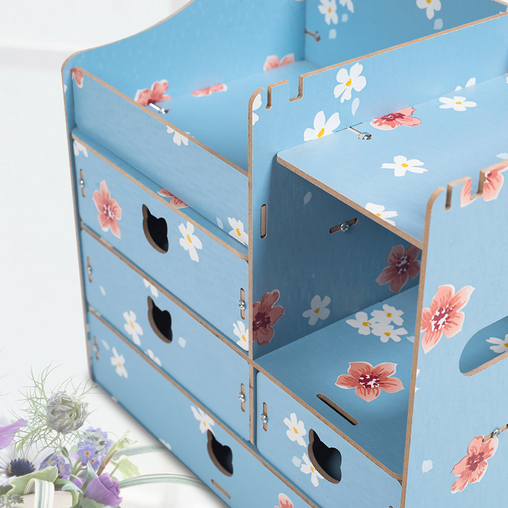 2017 New Storage Box for Jewelry Cosmetic Wooden Storage containers