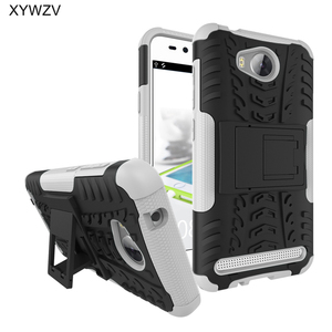 Image 5 - SFor Coque Huawei 社 Y3 II ケース耐衝撃ハード PC シリコーン電話ケース Huawei 社 Y3 II Huawei 社 Y3 II Lua L21 シェル XYWZV