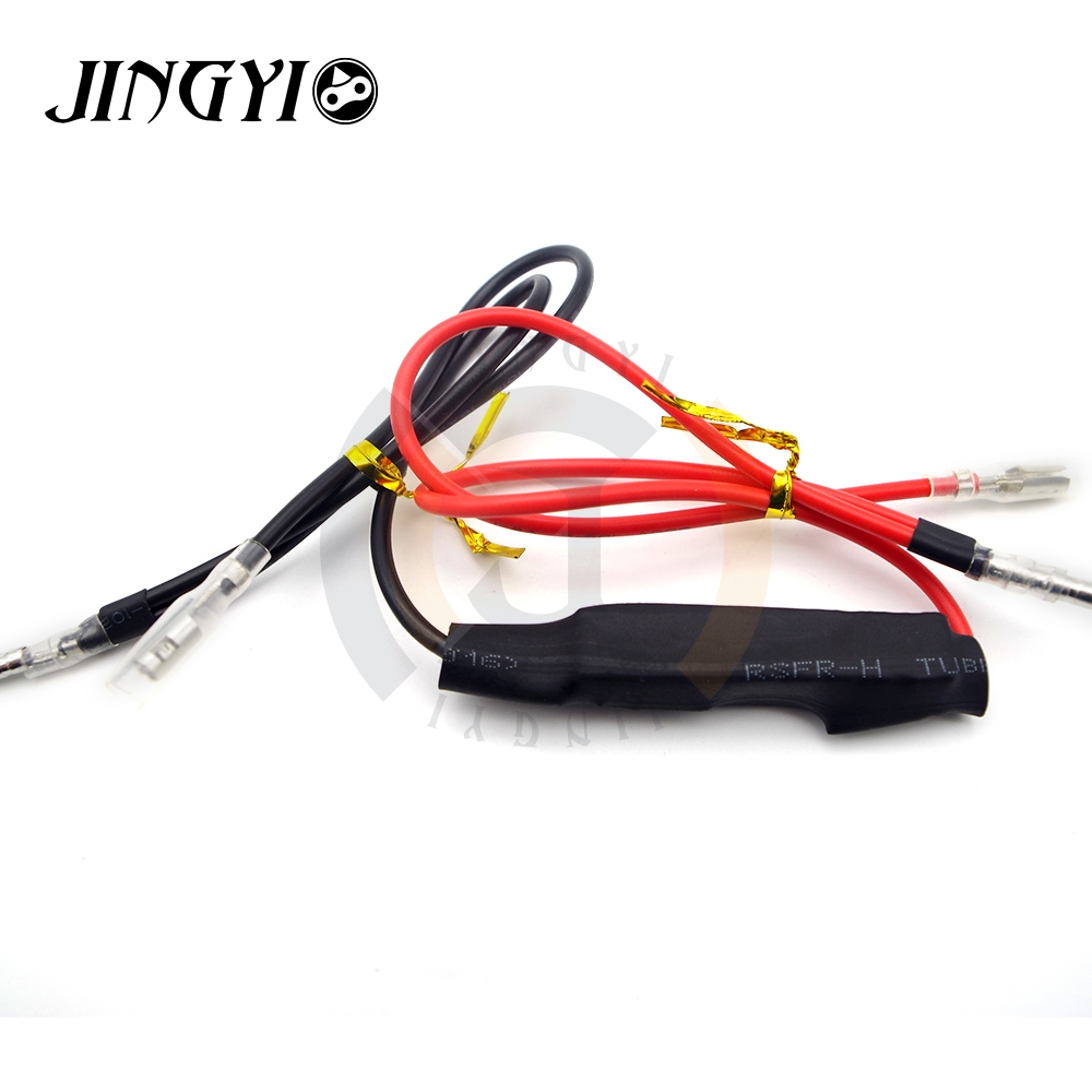 JINGYI Motorcycle Turn Signal Light Flasher Adapter Indicator Fix Error Decoder Resistors for Suzuki Honda Yamaha Honda KawasakiJINGYI Motorcycle Turn Signal Light Flasher Adapter Indicator Fix Error Decoder Resistors for Suzuki Honda Yamaha Honda Kawasaki