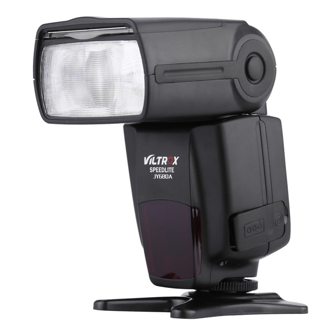 VILTROX JY-680A Flash Speedlite Universal Camera LCD Flash Speedlite For Canon Nikon Pentax Olympus Speedlite+Free Gift