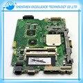 K40ad rev 2.1 laptop motherboard para asus ddr2 mainboard completo testado