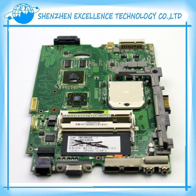 K40ad rev 2.1 placa madre del ordenador portátil para asus ddr2 mainboard probó por completo