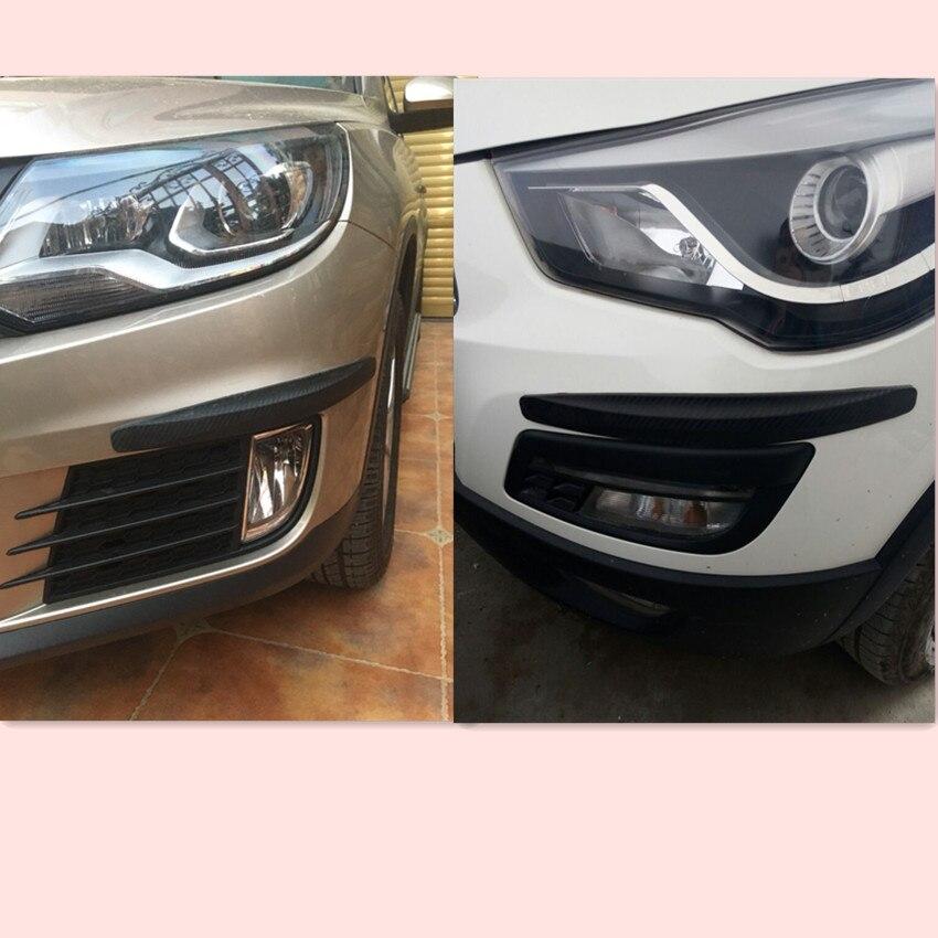 CAR Bumper Anti-collision Strip Sticker FOR AUDI S A3 A4 b7 A5 A7 A8 A6 A1 B4 B5 B6 Q3 Q5 Q7 car styling Accessories