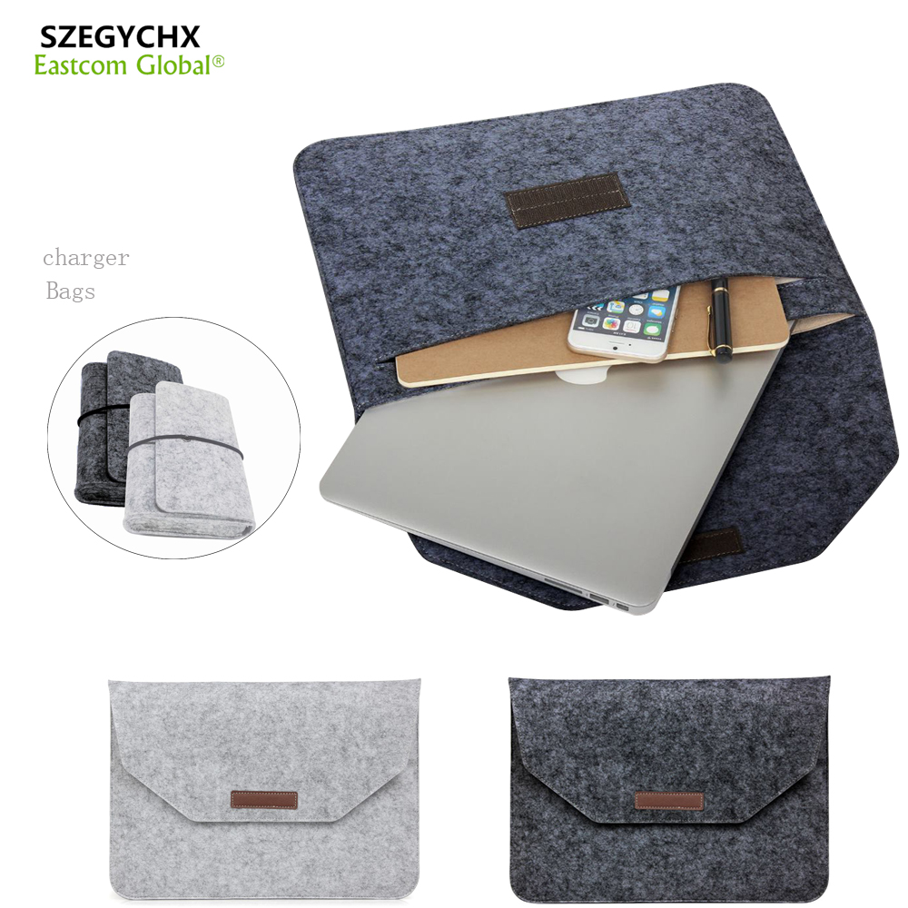 Anti-scratch Sleeve Bag Case For Macbook Air 13 Pro 13 Retina 11 12 13 15 Laptop Cover For Macbook 13.3 inch Laptop Case