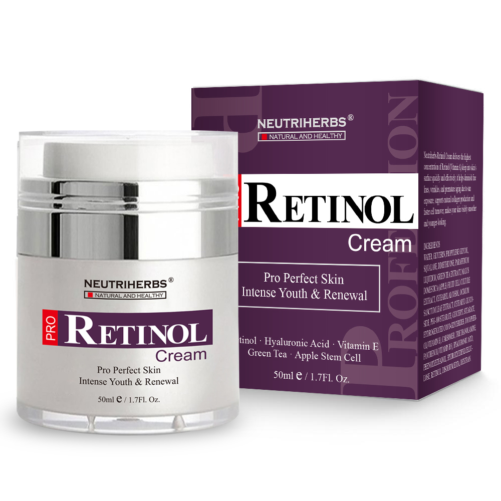 Neutriherbs Retinol Moisturizer Cream Vitamin A Vitamin E Collagen Cream for Face Facial Care 50g 2