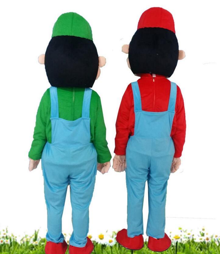 Haute qualité EVA matériel casque personnalisation rapide Mario mascotte Costumes unisexe dessin animé vêtements - 3