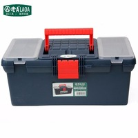 LAOA 16inch Multi Functional Toolbox Household Bin Brand Draw The Toolkit PARTS BOX Size 400 210