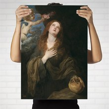 Home Decoration Print Canvas Art Wall Pictures Poster Printings Paintings England Anthony van dyck 7 Portrait
