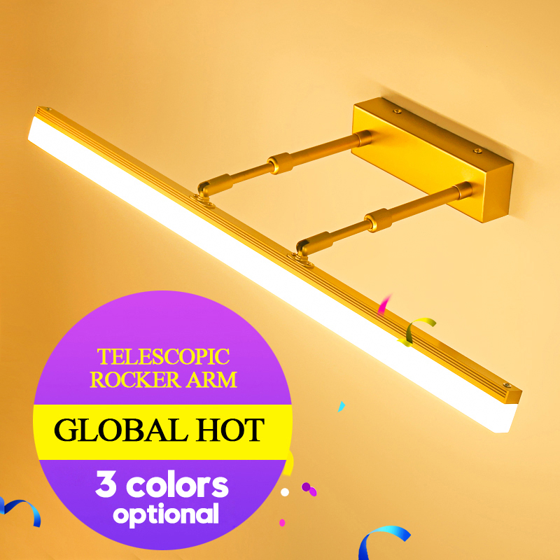 Modern New Indoor LED Wall Lamps in Bathroom 9W 12Watts Adjustable Beam Angle Home Indoor LED Mirror Lights AC 220v