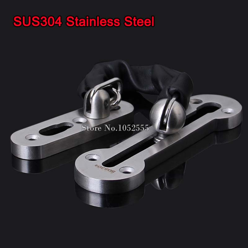 ФОТО High Quality 304 Stainless Steel Door Lock Chain Door Security Lock Chain Door Safety Lock Guard Chain Furniture Hardware K139