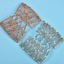 Flexible Butterfly Hair Clip Magic Elastic Hair Comb Women Hair Styling Tools Magic Comb Professional Hair Brush Fashion Headban
