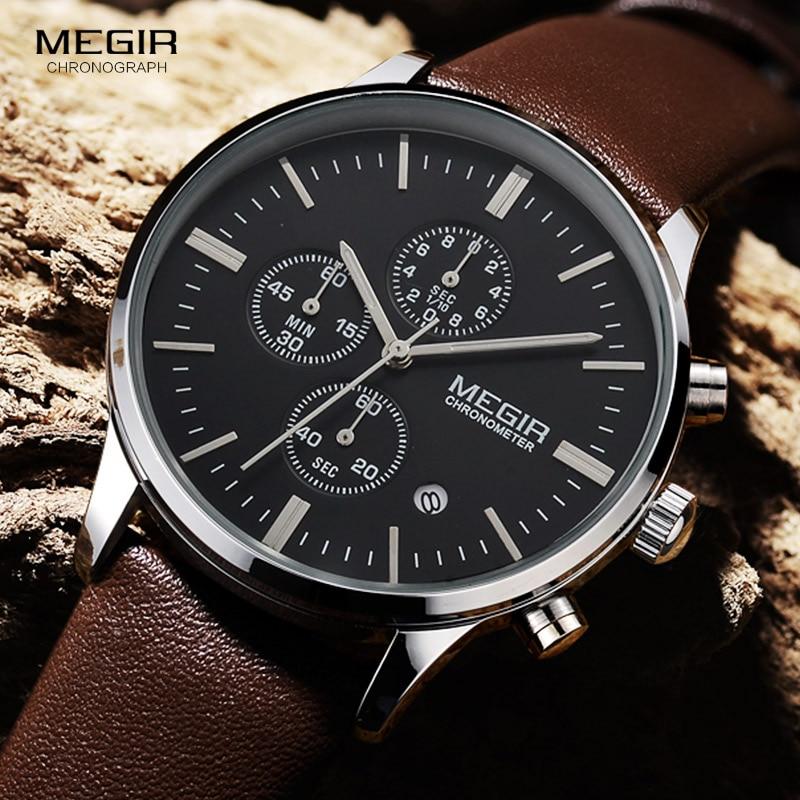Megir quartz ρολόγια ανδρών φωτεινό - Ανδρικά ρολόγια - Φωτογραφία 3