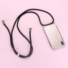 Ремешок шнур цепь лента для телефона ожерелье Ремешок Мобильный чехол для телефона чехол для переноски Чехол для iPhone 11 Pro XS Max XR X 7Plus 8Plus