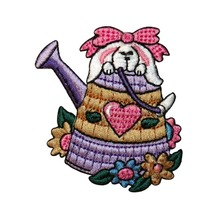 Custom Embroidered patches cartoon rabbit bunny Patch IRON ON EMBROIDERED PATCH Welcome to custom your own patch