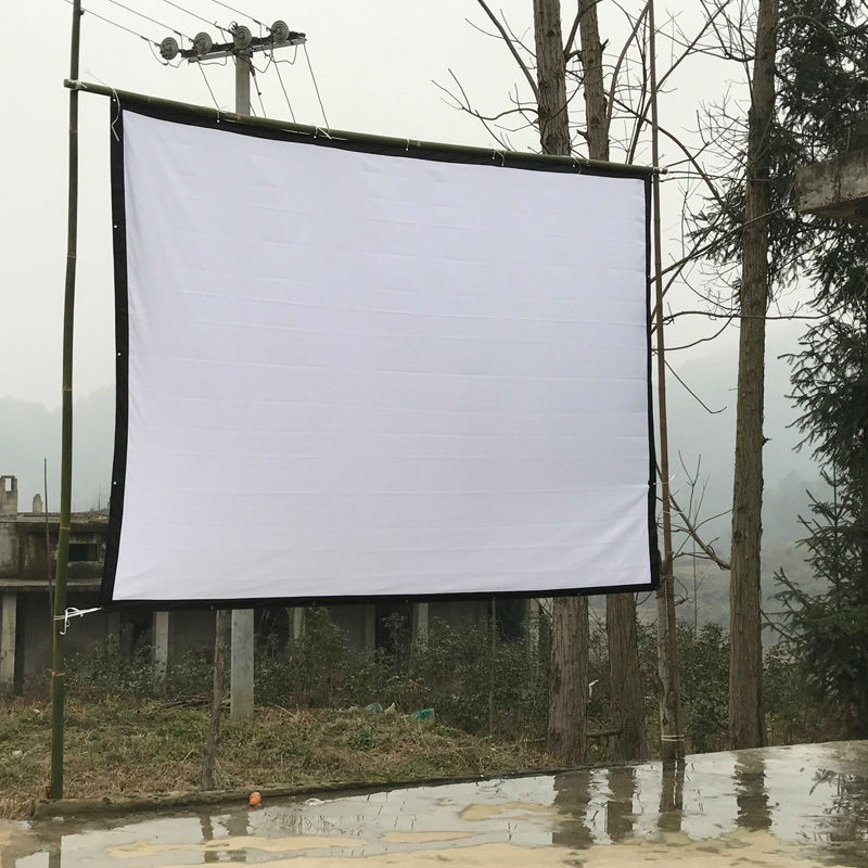 Free Shipping 100inches 16:9/4:3 Home Theater Movie Projection ...