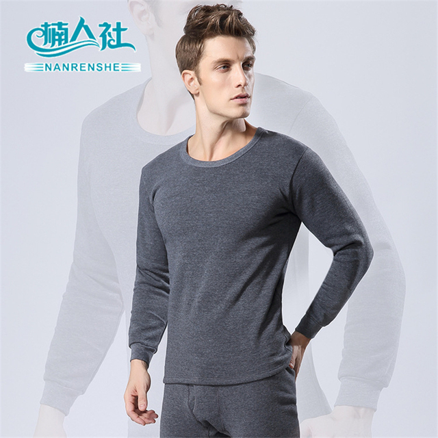 New 2016 Fashion Brand Clothing Male Pajamas Solid Cotton ONeck Full Man Long Sleeve Autumn outfit Casual Couple Suit Subcoating