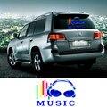 Новый 45 * 30 см стикер автомобиля красочные из светодиодов управление звуком музыки свет Earplug шаблон автомобилей музыка эквалайзер стикер музыка ритм EL лист