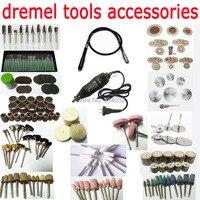 dremel rotary tool kit dremel accessories abrasive head set diamond cutting disc polishing wheel grinding set saw blade mandrel