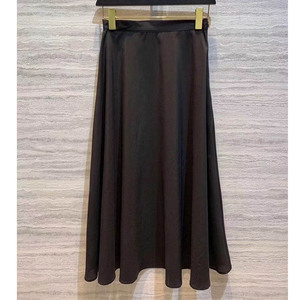 Image 4 - Cosmicchic 2019 활주로 디자이너 여성 블랙 롱 Tulle Skirt 하이 웨스트 플리츠 폴카 도트 Maxi Skirt Lolita Saia Jupe Faldas
