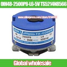 Codificador de servomotor OIH48 2500P8 L6 5V TS5214N8566/OIH48 2500P8 L6 5V, codificador de eje cónico para Tamagawa, 1 Uds.
