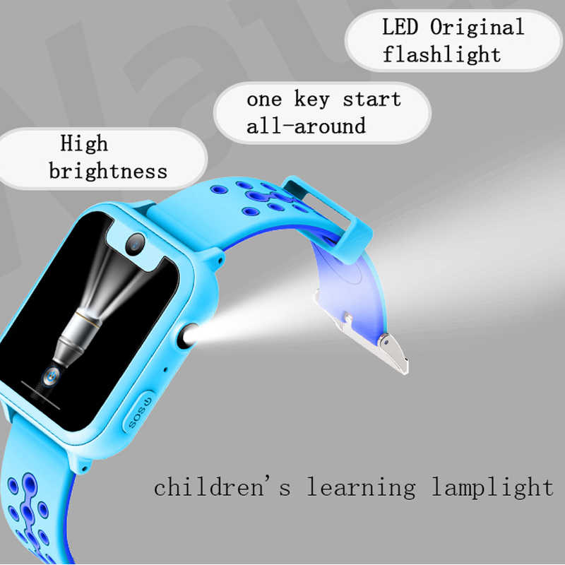 """S10 Smart Kids Watch GPS Tracker SOS Call back SIM Location Device Camera for Baby Safe HD 1.54"""" Children Smart Watches"""