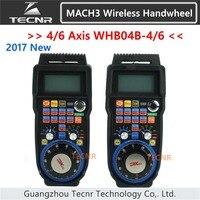 XHC CNC handwheel wireless Mach3 MPG pendant handwheel for milling machine 4 axis MPG WHB04B 4 WHB04B 6