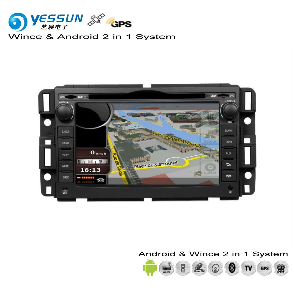 YESSUN For Chevrolet Impala / Avalanche 2006~2013 Car Android Multimedia Radio CD DVD Player GPS Navi Map Navigation Audio Video