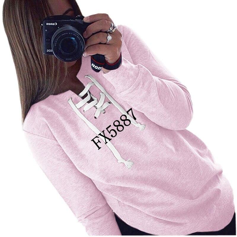 2018 di Nuovo Modo di Magliette e camicette Kawaii Felpe Donne Felpa Femmes Ragazze della Gioventù Carino Femminile di Formato Più Comodo
