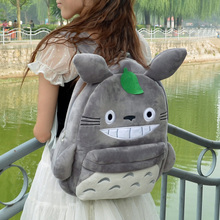 Hot Sale New Fashion Korean Cartoon Cute Plush High Quality Backpack Large Capacity Women Bag Students Shoulder Package For Girl